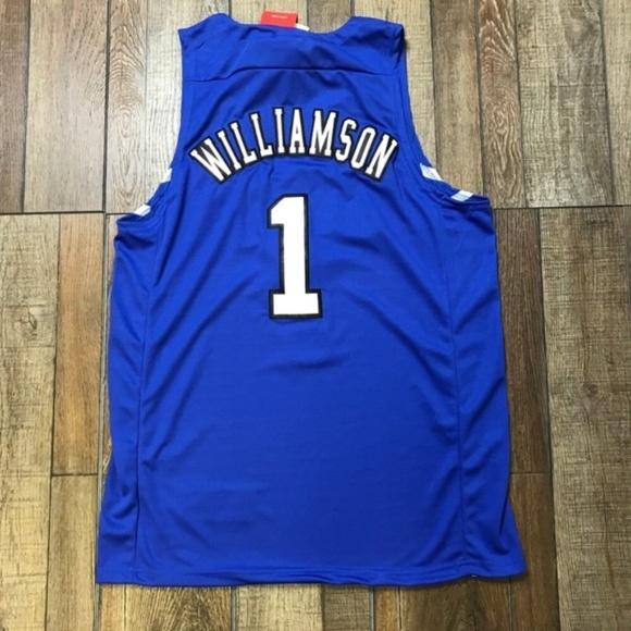 pretty nice fc2d2 031e0 NWT Zion Williamson Duke Jersey NWT